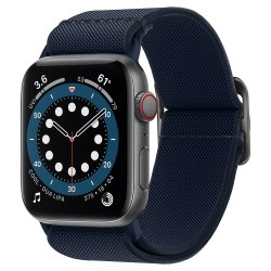 Apple Watch 42/44mm Armband Lite Fit Navy