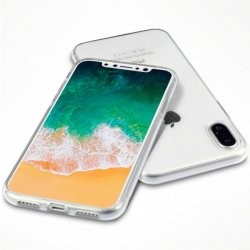 Apple iPhone X/Xs Mobilskal TPU Transparent Klar