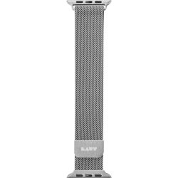 Apple Watch 38/40mm Armband Steel Loop Silver