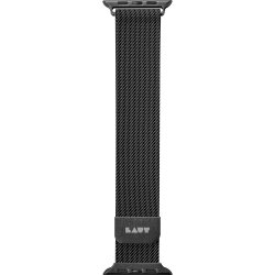 Apple Watch 42/44mm Armband Steel Loop Svart