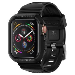 Apple Watch 44mm (Series 4/5/6/SE) Skal Rugged Armor Pro Charcoal Grey