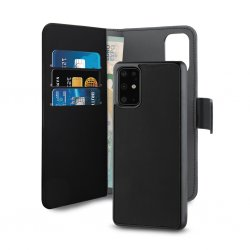Huawei P40 Fodral Wallet Detachable 2 in 1 Svart