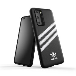 Huawei P40 Skal OR 3 Stripes Snap Case Svart Vit