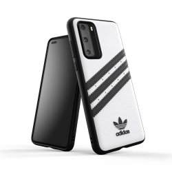 Huawei P40 Skal OR 3 Stripes Snap Case Vit Svart