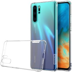 Huawei P30 Pro Skal Nature Series TPU Transparent Vit