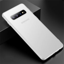 Samsung Galaxy S10 Plus Skal Ultra Thin TPU Transparent Vit