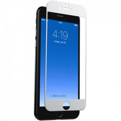 InvisibleShield Glass Contour till iPhone 8/7 Vit
