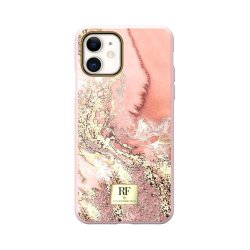 iPhone 11 Skal Pink Marble Gold