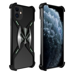 iPhone 11 Skal X-format Metall Svart
