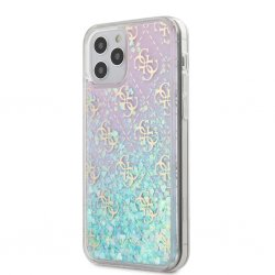 iPhone 12/iPhone 12 Pro Skal Liquid Glitter Iridescent