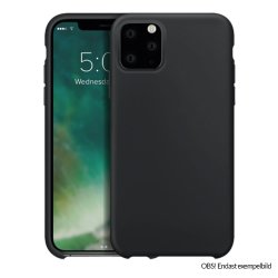 iPhone 12/iPhone 12 Pro Skal Silicone Case Svart