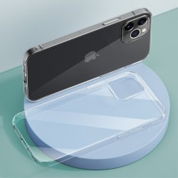 iPhone 12 Mini Skal TPU Transparent Klar
