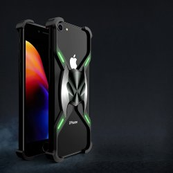 iPhone 7/8 Skal X-format Metall Svart