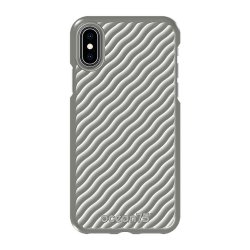 iPhone X/Xs Skal Ocean Wave Dolphin Grey