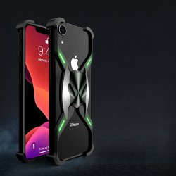iPhone Xr Skal X-format Metall Svart