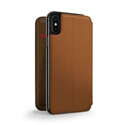 iPhone Xs Fodral SurfacePad Cognac