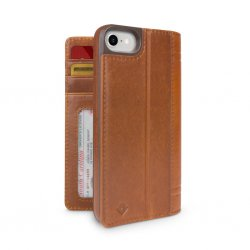 iPhone 7/8/SE 2020 Fodral Journal Cognac