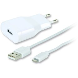 Micro USB laddare, flat & tyg, 3m Gul Köp här