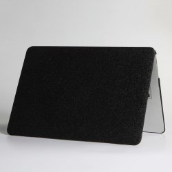 Macbook Air 13 (A1932, A2179) Skal Glitter Svart
