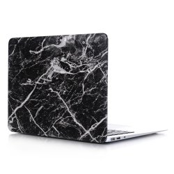 Macbook Air 13 (A1932, A2179) Skal Marmor Svart