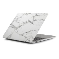 MacBook Air 13.3 2018 Skal Hårdplast Marmor Mörkgrå