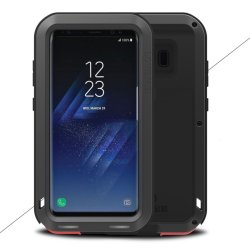 Powerful Case till Samsung Galaxy S8 Plus Super Guard Skal Stötsäkert Svart