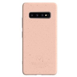 Samsung Galaxy S10 Skal Bio Cover Salmon Pink