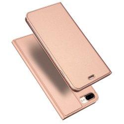 Skin Pro Series Fodral till iPhone 8/7 Plus Roseguld
