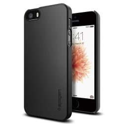 Thin Fit Skal till iPhone 5 / 5S / SE Black