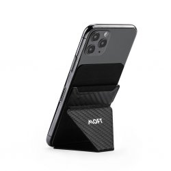 X Adhesive Phone Stand Carbon Black