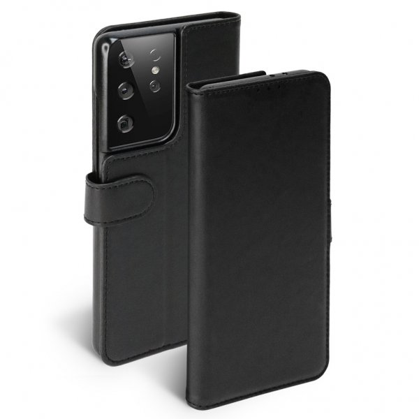 Krusell Samsung Galaxy S21 Ultra Fodral PhoneWallet Svart - SkalHuset.se