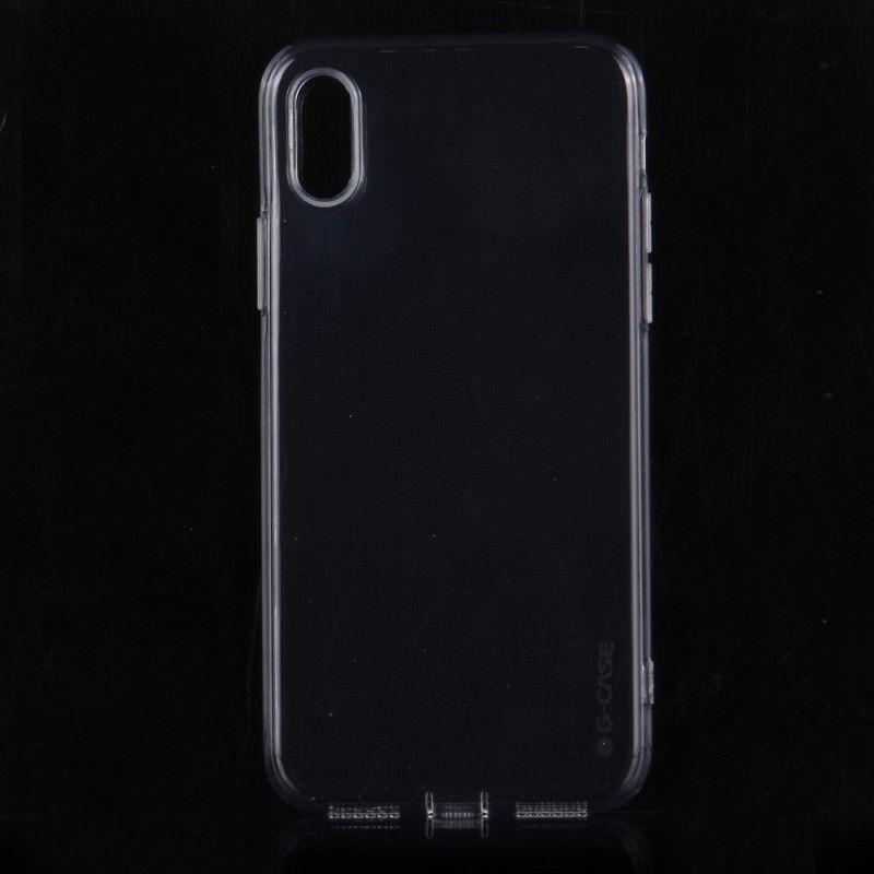 G-case Cool Series till iPhone X/Xs Mobilskal TPU Klar