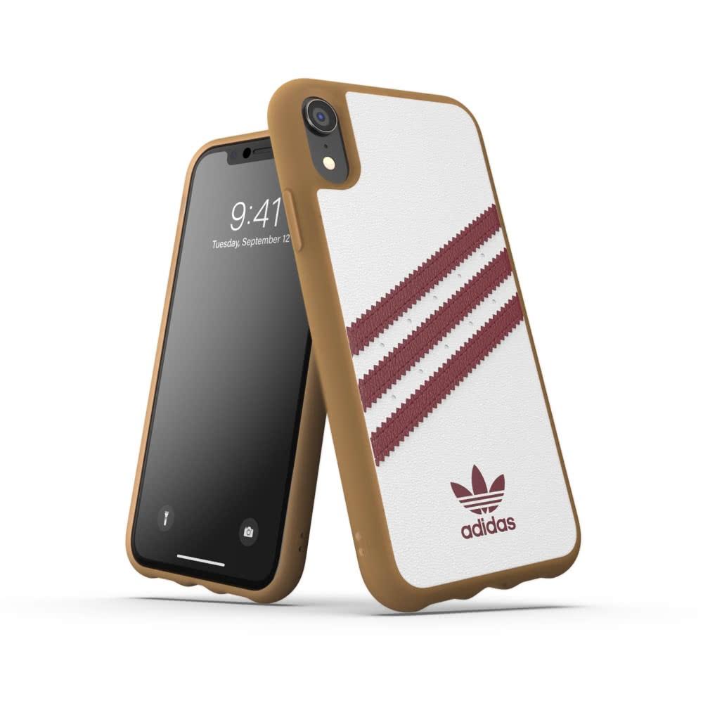 Adidas iPhone Xr Skal OR Moulded Case PU SS19 Vit Röd