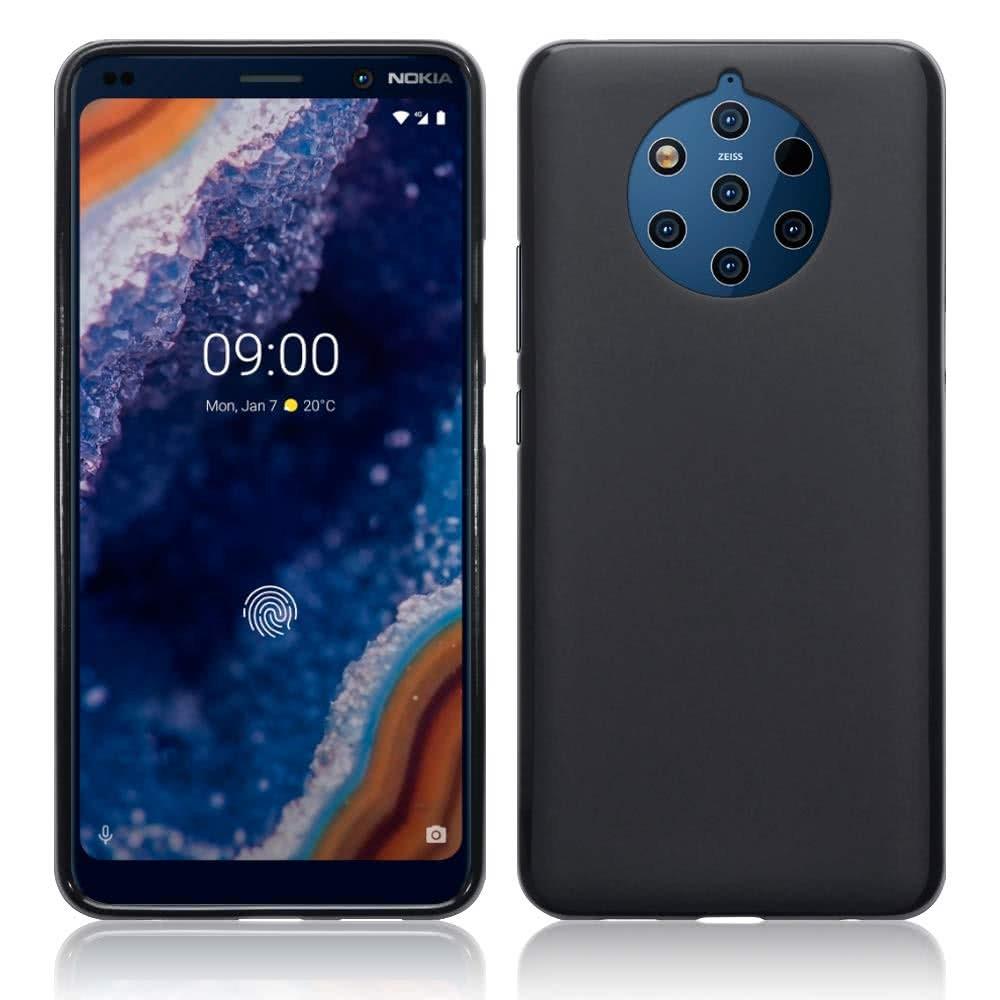 Nokia 9 PureView Skal TPU Matt Svart