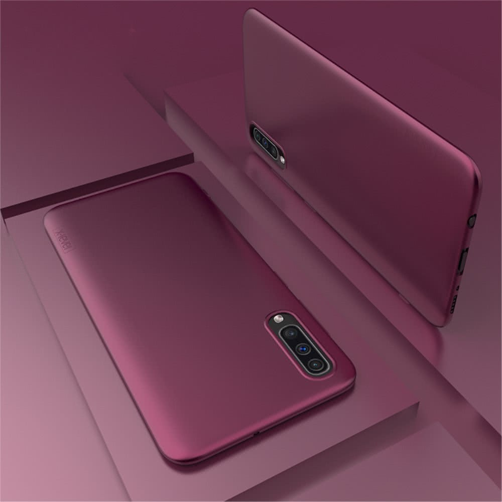 X-Level Samsung Galaxy A50 Skal Guardian Series TPU Vinröd