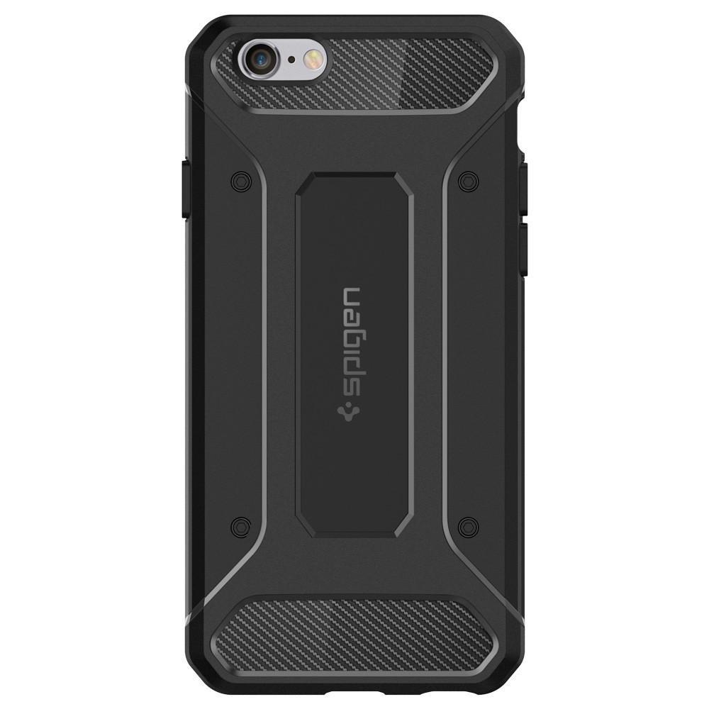 Spigen iPhone 6/6S Skal Rugged Capsule Svart