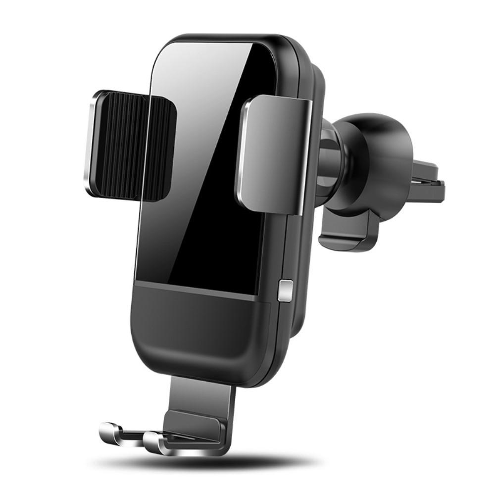 Bilhållare med Qi laddning Intelligent Låsning Ventilation Svart