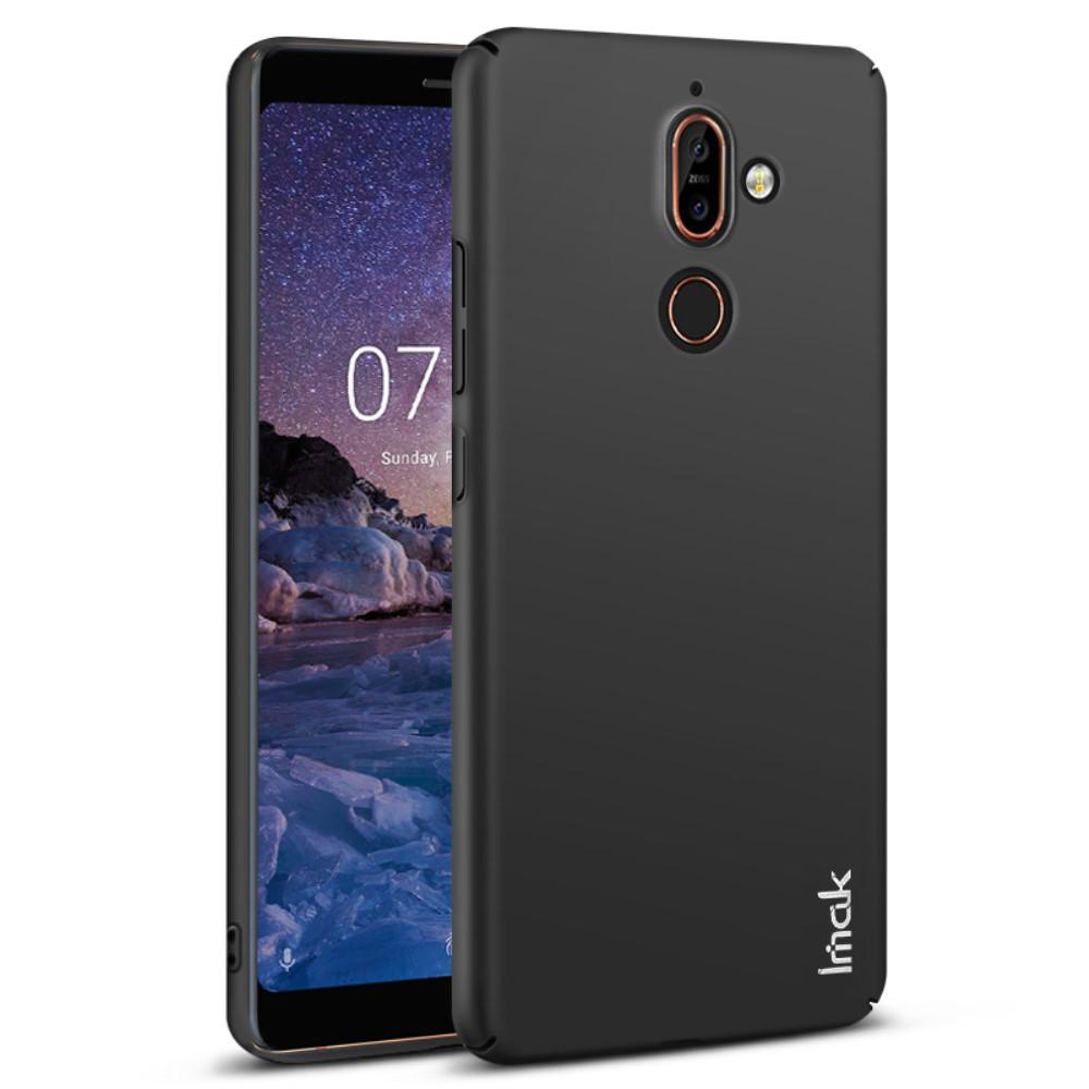 IMAK Jazz Slim Skal till Nokia 7 Plus Hårdplast Svart