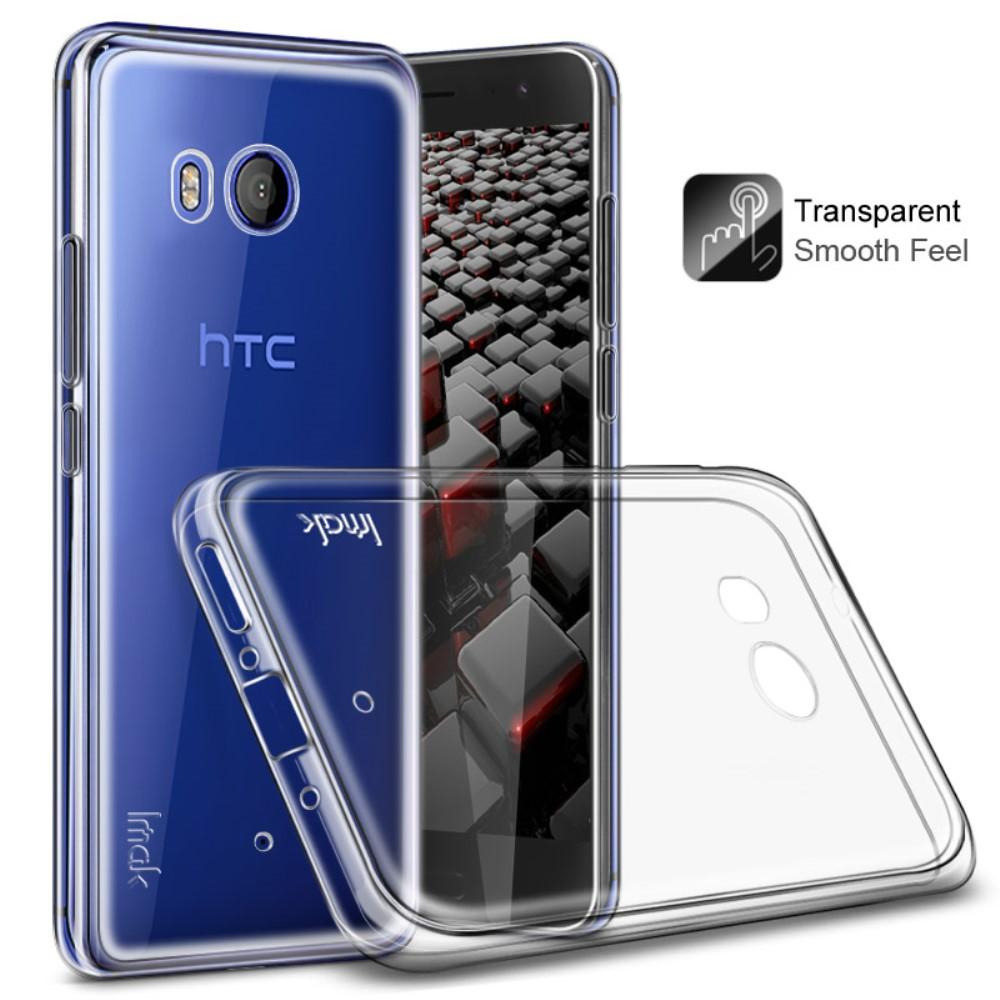 IMAK Mobilskal till HTC U11 TPU Transparent Klar
