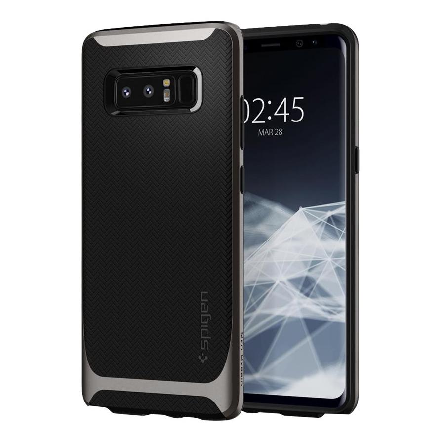 Spigen Neo Hybrid Skal till Samsung Galaxy Note 8 Gun Metal
