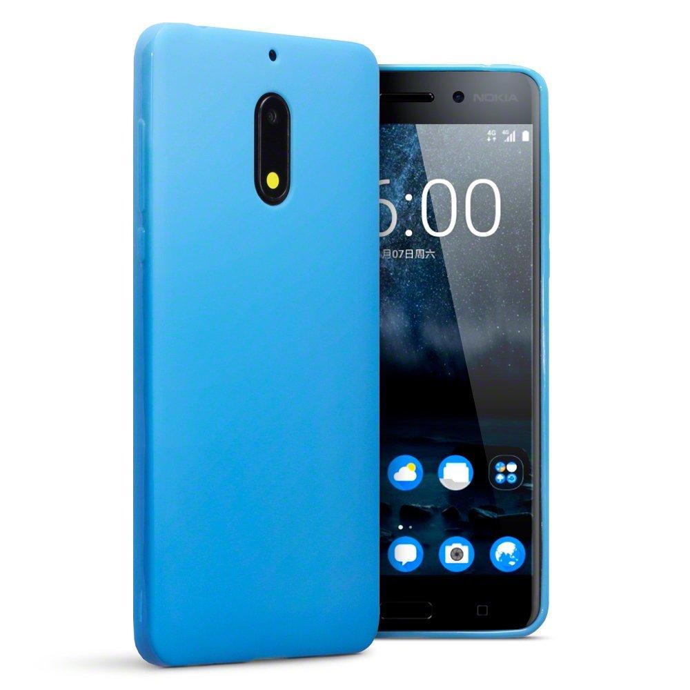 Nokia 6 Skal TPU Matt Blå