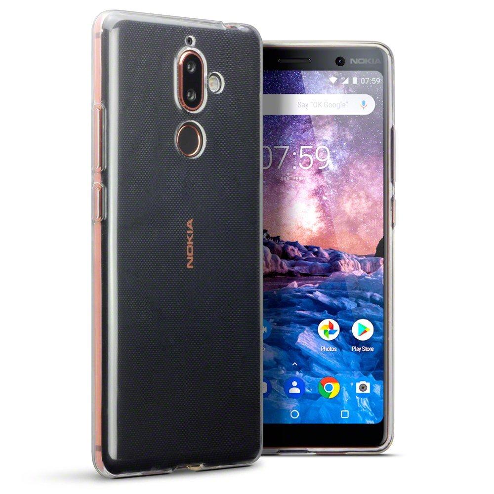 Nokia 7 Plus Skal TPU Klar