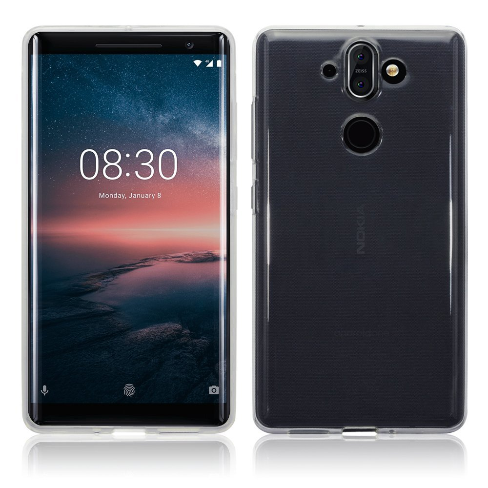 Nokia 8 Sirocco Skal TPU Klar