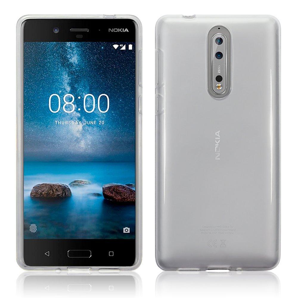 Nokia 8 Skal TPU Klar
