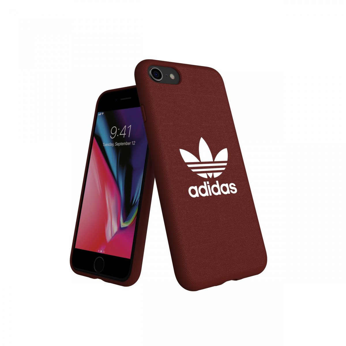Adidas iPhone 6/6s/7/8 Skal OR Moulded Case Canvas FW18 Maroon