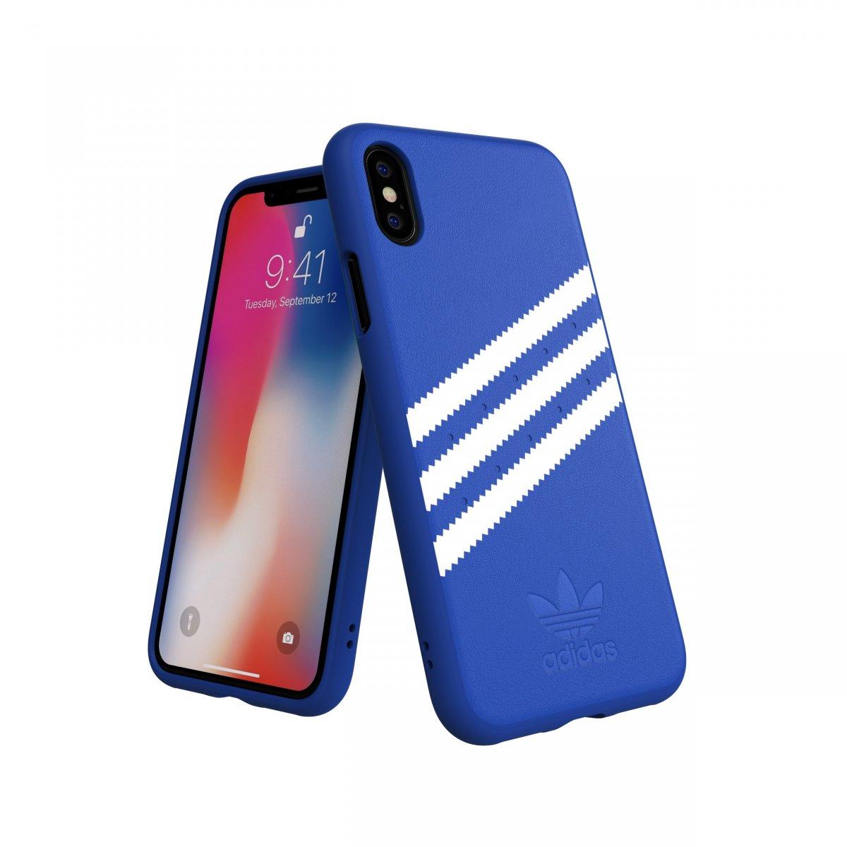 iPhone X/Xs Skal OR Moulded Case Suede FW18 Blå