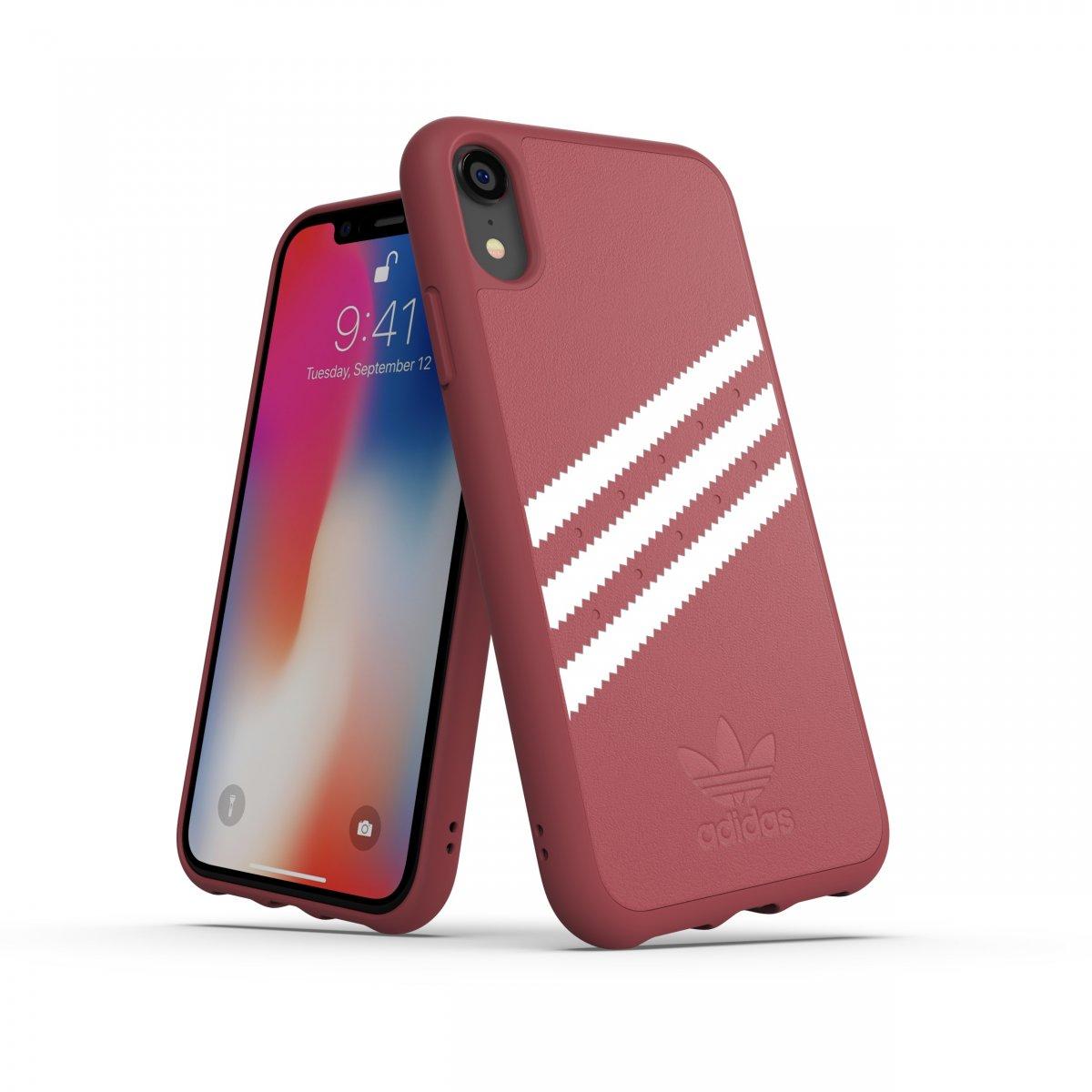 Adidas iPhone Xr Skal OR Moulded Case Suede FW18 Ljusblå