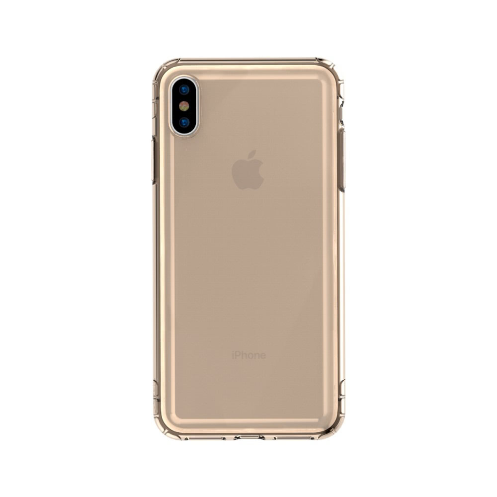 Safety Airbags Series Skal till iPhone Xs Max TPU Guld