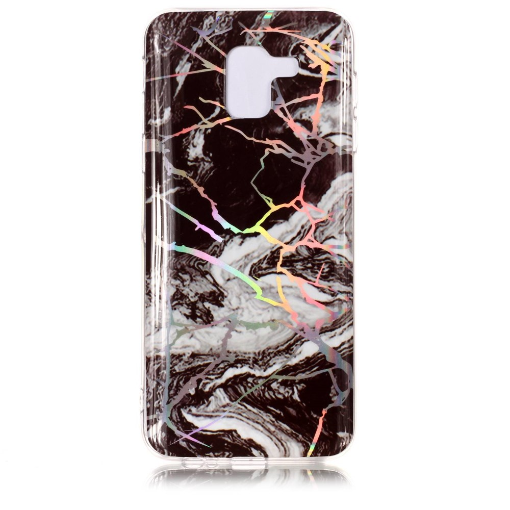 ChoosEU Silikon Marmor H/ülle f/ür Samsung Galaxy A6 Plus 2018 Muster TPU Handyh/ülle Ultra D/ünn Bumper Sto/ßfest Silikonh/ülle Slim Case Schutzh/ülle Soft Design Cover Rose